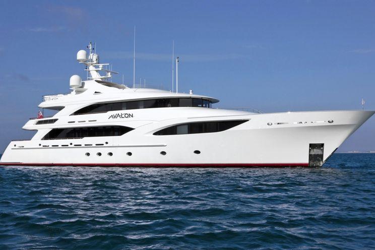 Charter Yacht AVALON - Delta Marine 46m - 5 Cabins - Nassau - Bahamas - St Barths - Virgin Islands