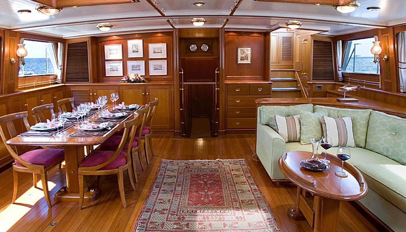 Boatbookings AXIA Sailing Yacht Saloon