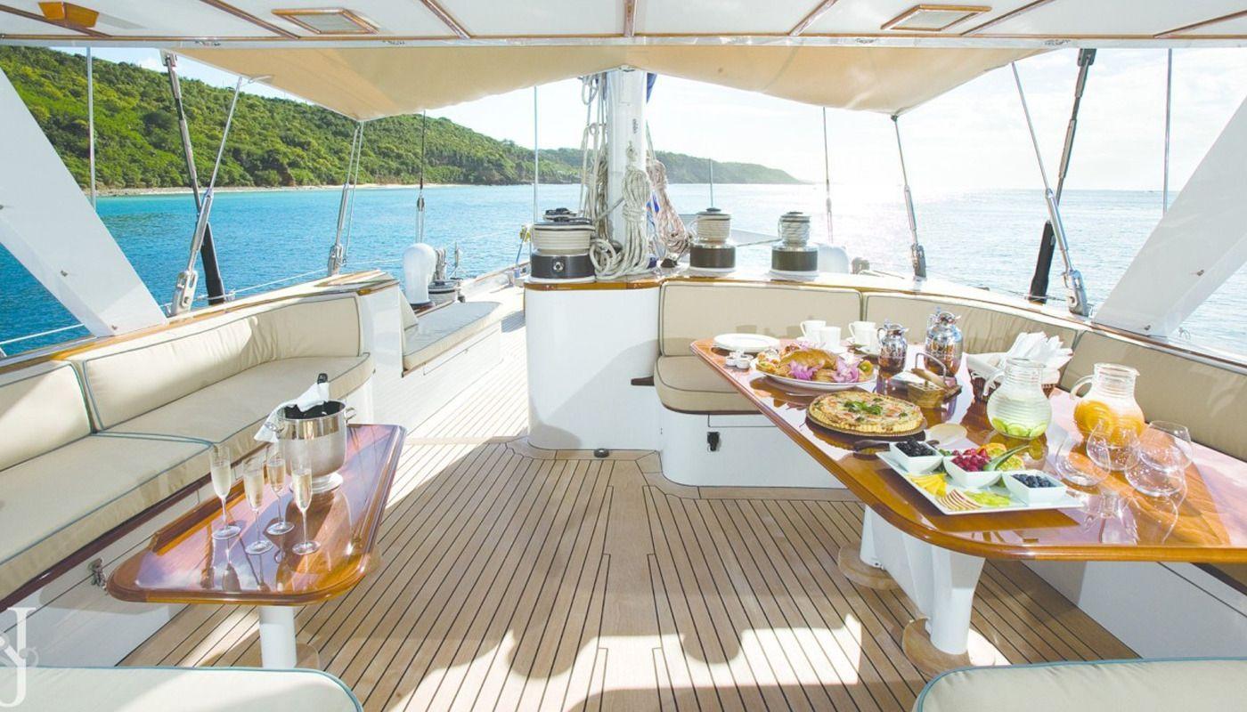 Boatbookings AXIA Sailing Yacht Dining