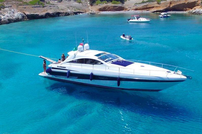 Pershing 65 - Day Charter Yacht - Mykonos - Paros - Naxos