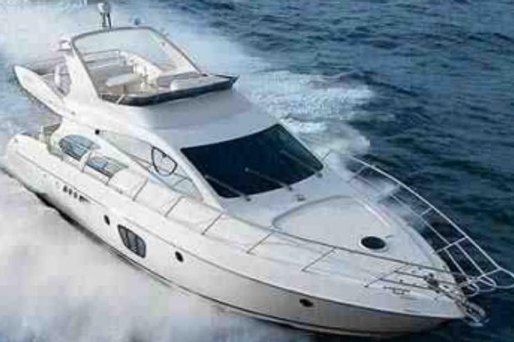 Charter Yacht Azimut 58 - 3 Cabins - Miami Day Boat Rental - Miami Beach - South Beach - Biscayne Bay