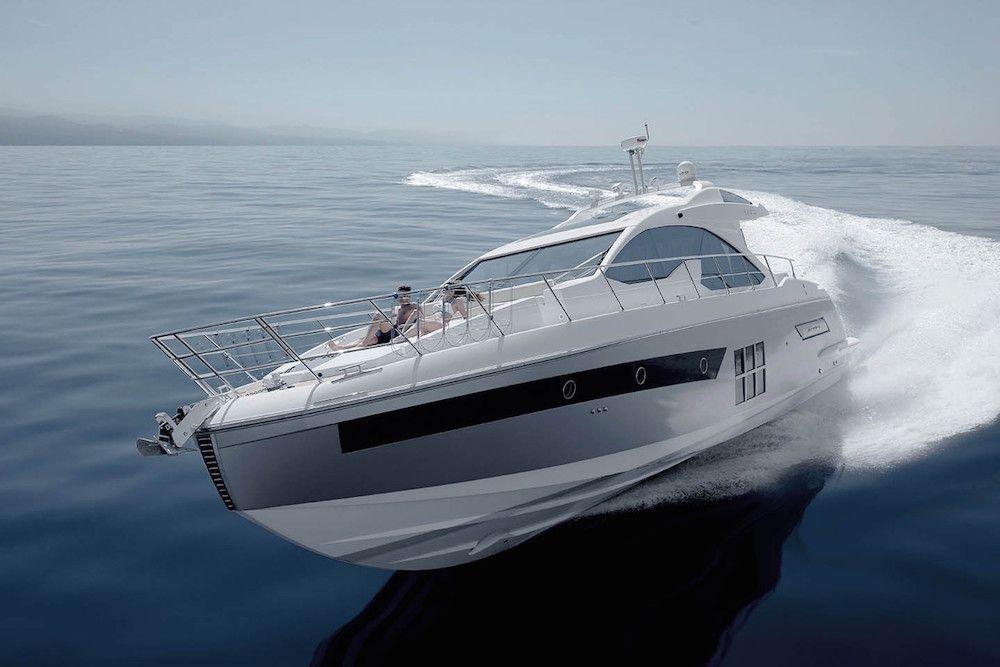 Azimut 55s - Cannes - Antibes - Monaco - St Tropez