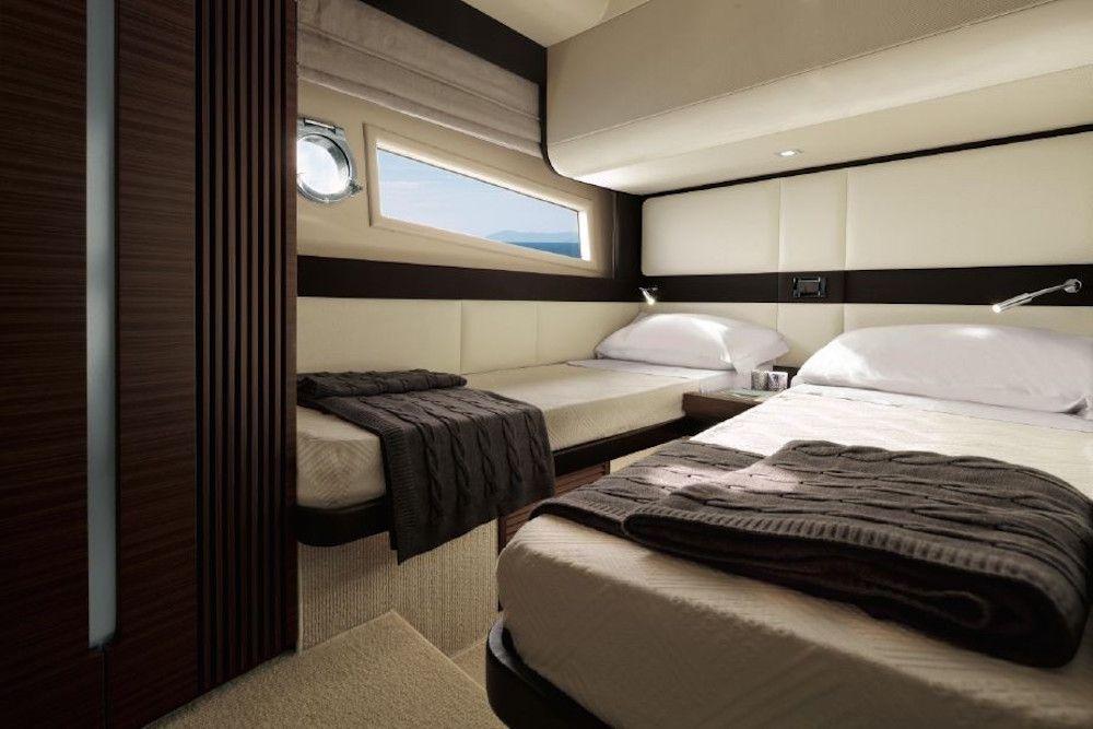 Azimut 55S - Twin Cabin