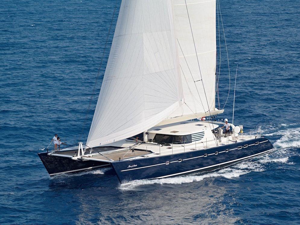 AZIZAM - JFA 26m - 3 Cabins - Bahamas, Caribbean - Leeward, Caribbean - Virgin Islands, Windward - New Caledonia Tahiti