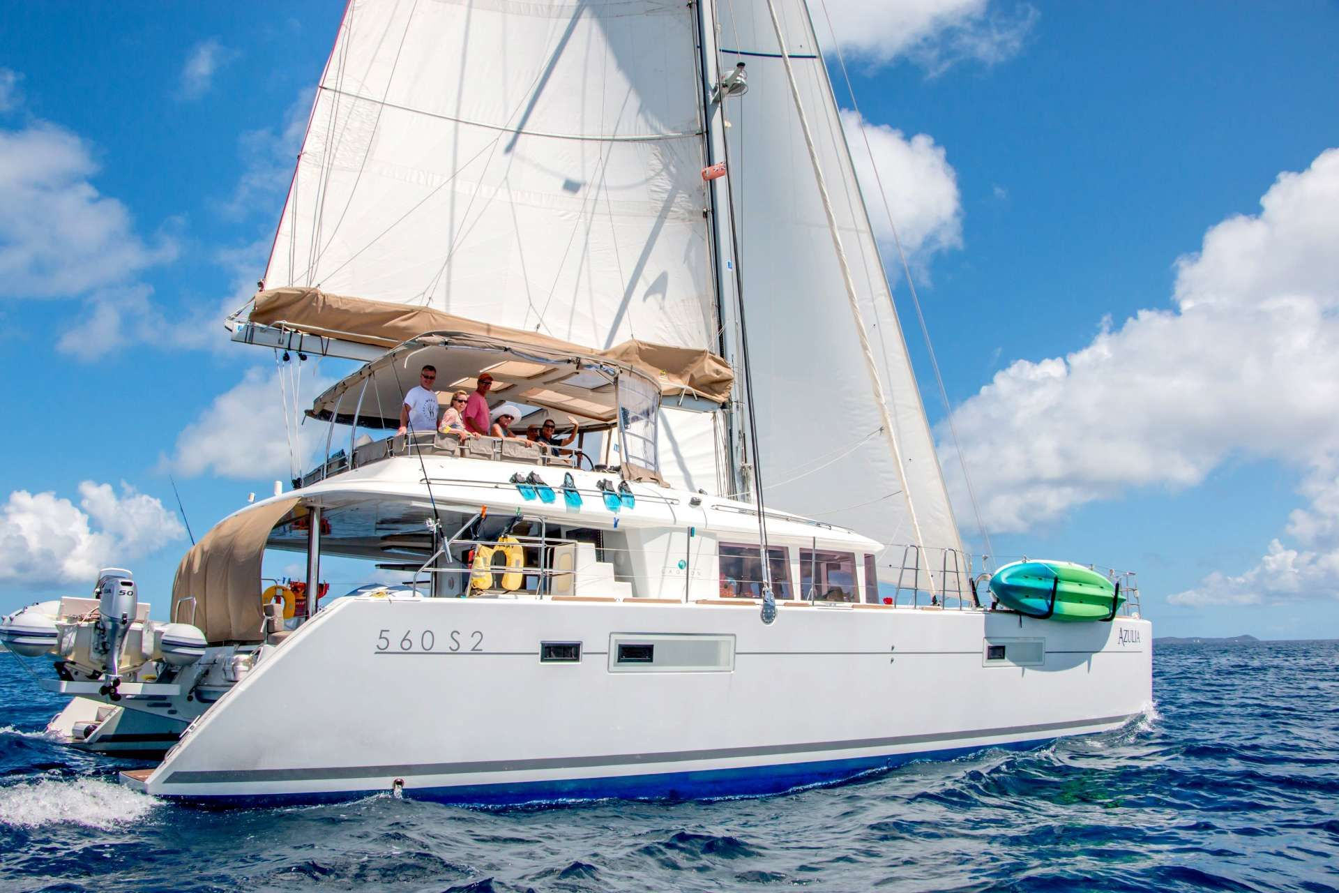 AZULIA II - Lagoon 560 S2 - 4 Cabins - St Thomas - St John - Virgin Islands