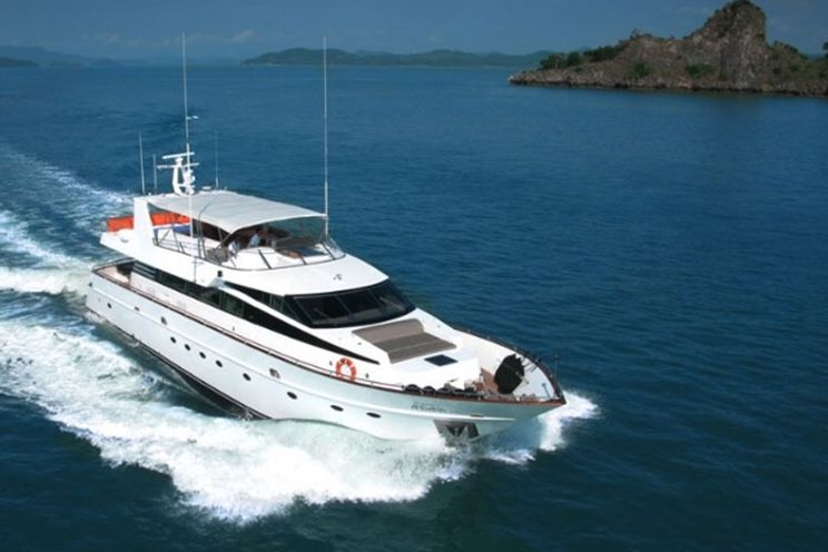 Charter Yacht Baglietto 85 - Day Charter for 20 Guests or 4 Cabins Live Aboard - Phuket, Thailand