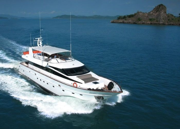 Baglietto 85 - Day Charter for 20 Guests or 4 Cabins Live Aboard - Phuket,Thailand