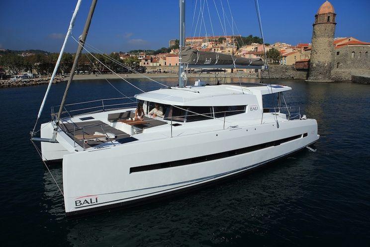 Charter Yacht Bali 4.5 with watermaker&A/C - 4 + 2 cabins - 2020 - Tahiti - Raiatea