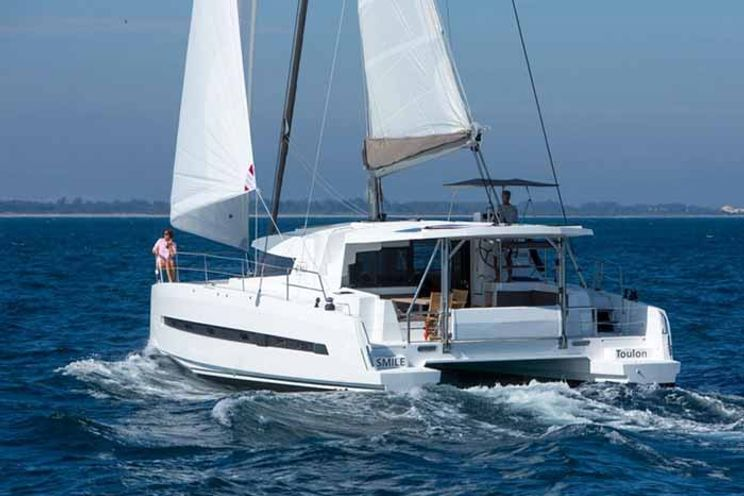 Charter Yacht Bali 4.5 with watermaker