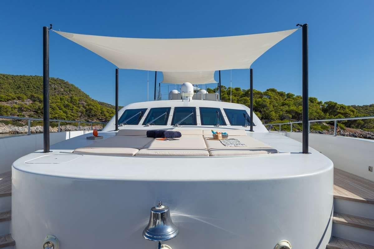 BARENTS SEA Yacht Bow