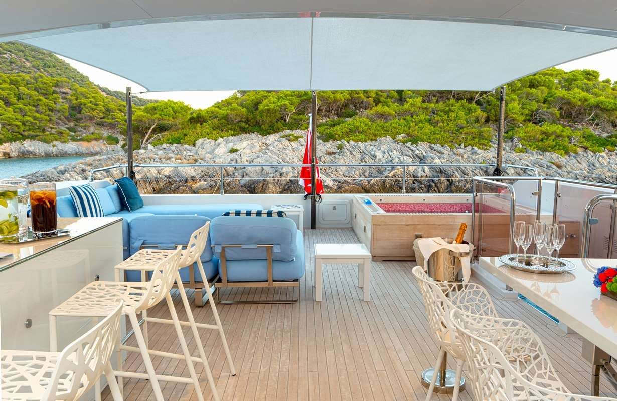 BARENTS SEA Yacht Upper Deck