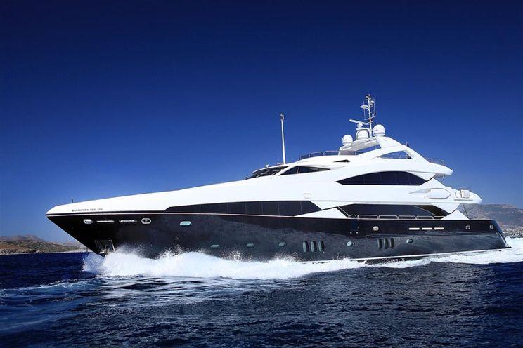 Charter Yacht BARRACUDA RED SEA - 37m Sunseeker - 6 Cabins - Split - Dubrovnik - Budva - Kotor - Tivat