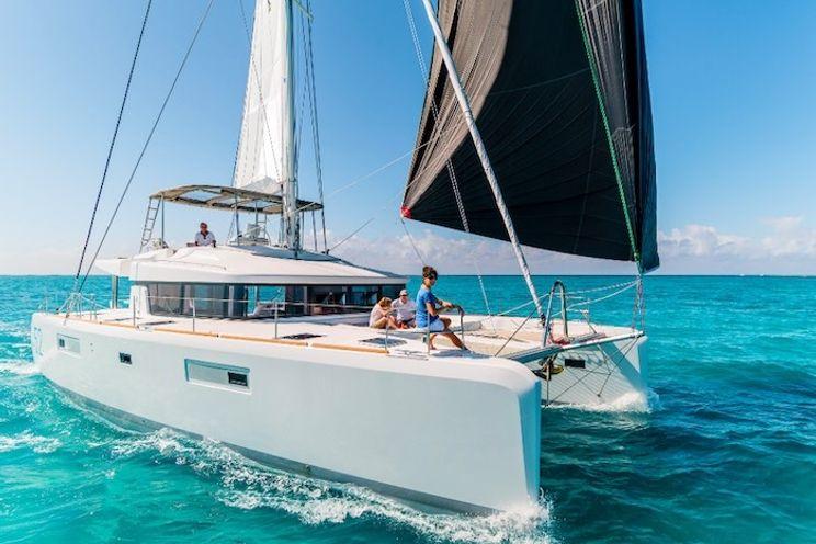 Charter Yacht MOJITO (Ex BE HAPPY) - Lagoon 52F - 4 Cabins - Italy - Porto Cero - Olbia - Naples - Capri - Amalfi Coast - Sardinia