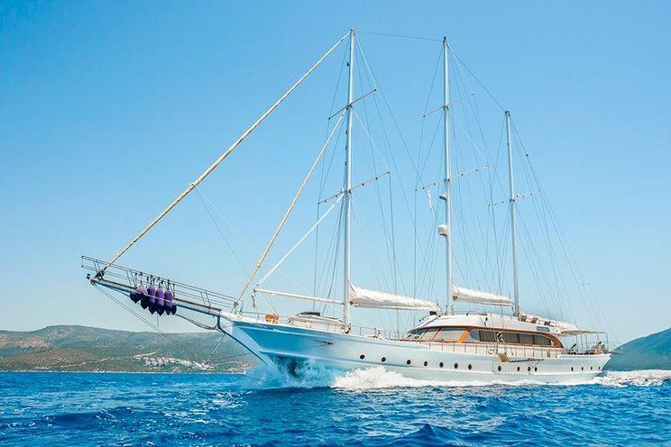 Charter Yacht BELLA MARE - 38m Custom Gulet - 6 Cabins - Bodrum - Marmaris - Kos - Rhodes
