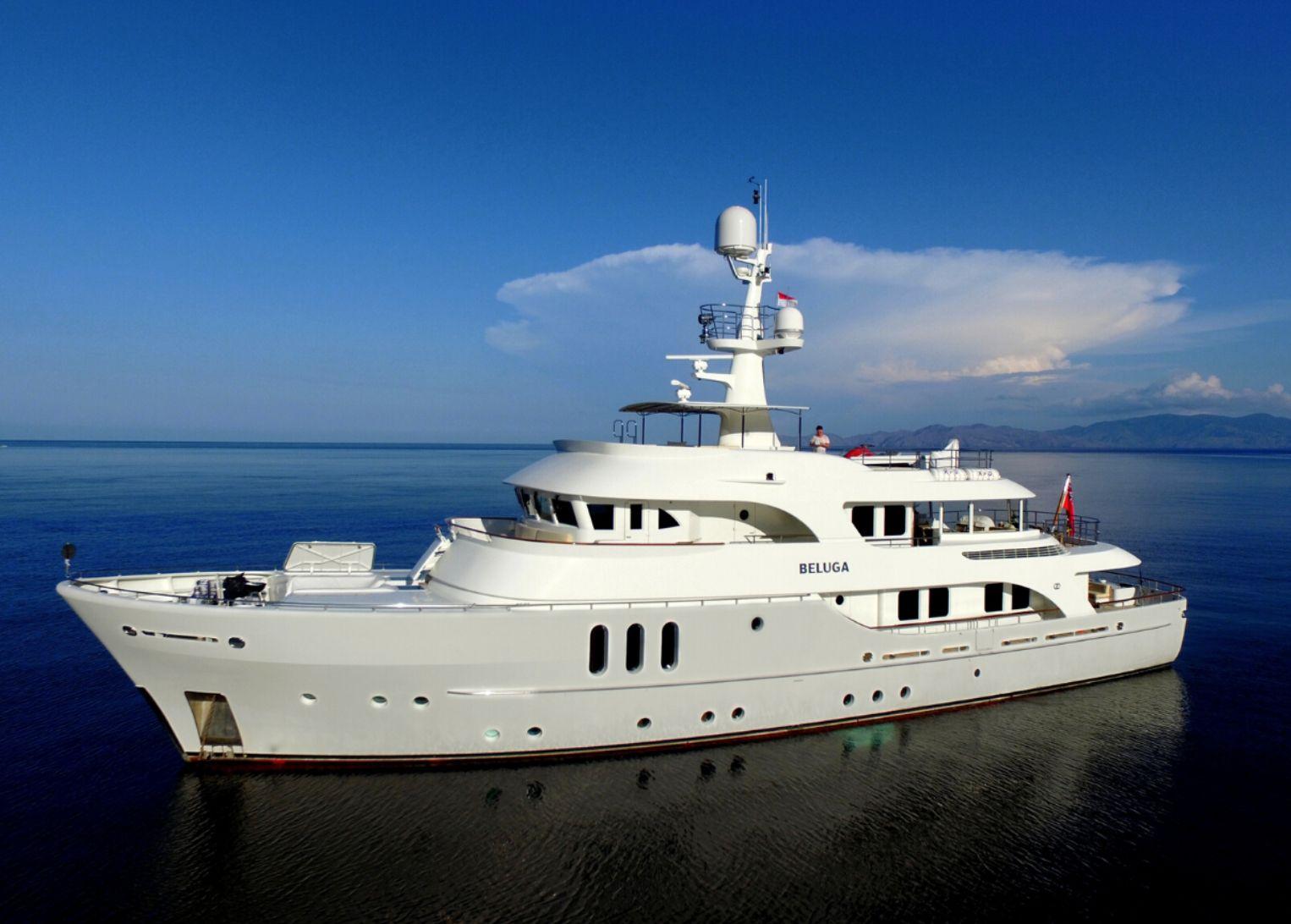 BELUGA - Moonen 34m - 5 Cabins - Australia - Whitsundays - Solomon Islands - Papau New Guinea