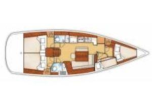 Beneteau Oceanis 43 - 4 Cabins - Kastela - Croatia