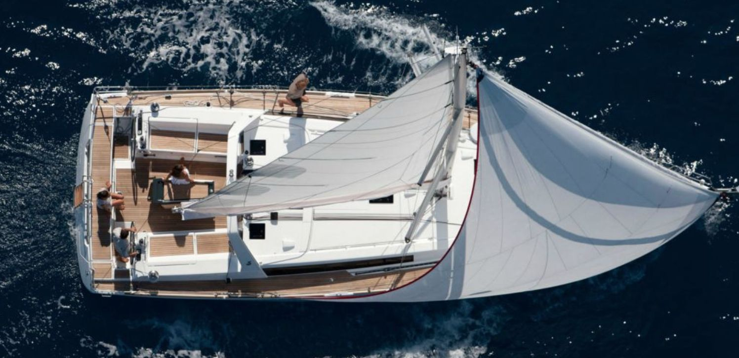 Beneteau Oceanis 45 From Above