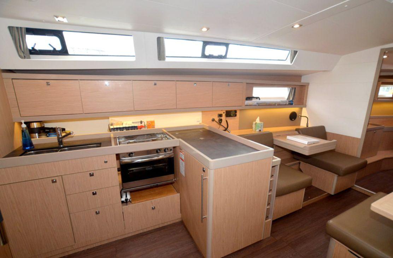 Beneteau Oceanis 45 Kitchen
