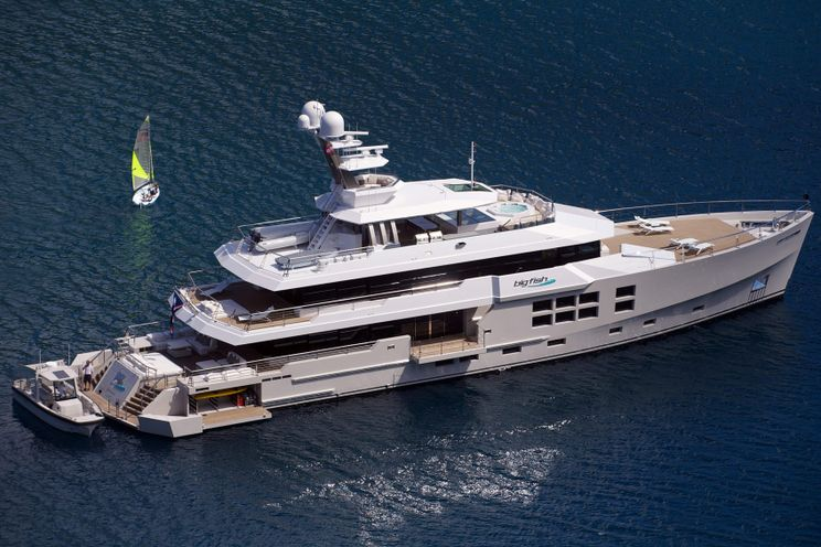 Charter Yacht BIG FISH - McMullen and Wing 45m - 5 Cabins - Tahiti - South Pacific