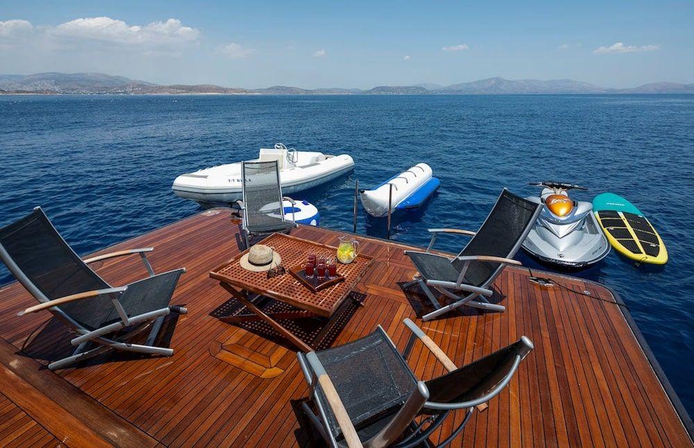 Admiral 42m Motor yacht BILLA Swim Platform