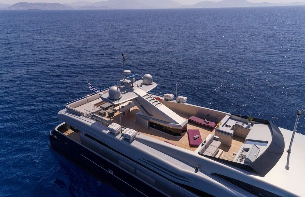 Admiral 42m Motor yacht BILLA Flybridge