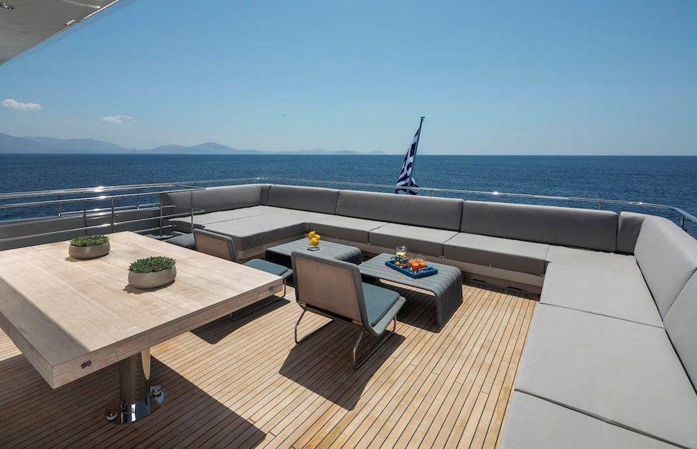 Admiral 42m Motor yacht BILLA Sun Deck
