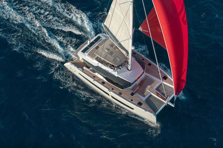 Charter Yacht BLACK CAT - Fountaine Pajot Alegria 67 - 4 Cabins - Athens - Hydra - Santorini