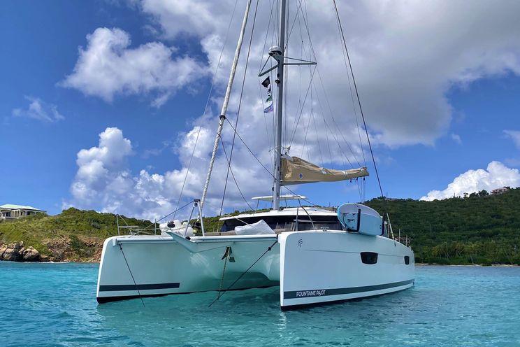 Charter Yacht BLACK TORTUGA - Fountaine Pajot Saona 47 - 4 Cabins - St Thomas - St Croix - St John