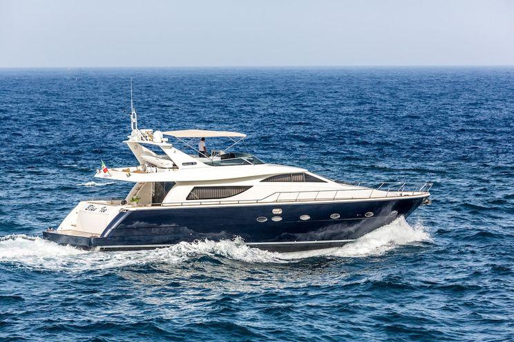 Charter Yacht BLUE ICE - Uniesse Marine 73 - 4 Cabins - Taormina - Naples - Amalfi Coast - Porto Cervo