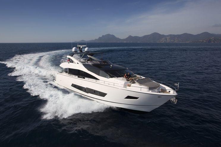 Charter Yacht BLUE INFINITY - Sunseeker 86 Yacht - 4 Cabins - Palma - Ibiza - Formentera