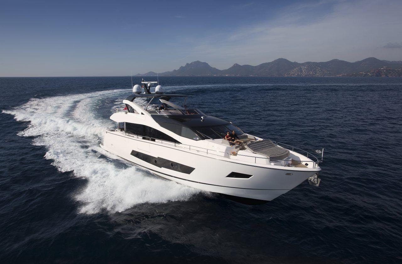 BLUE INFINITY - Sunseeker 86 Yacht - 4 Cabins - Palma - Ibiza - Formentera