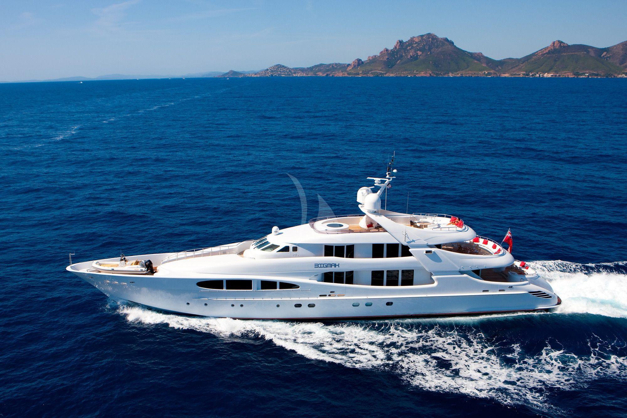 BLUE MAGIC - Heesen 156 - 5 Cabins - Cannes - Antibes - St Tropez - Monaco