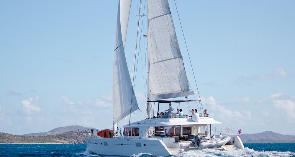 BLUE MOON - Lagoon 560 - 3 Cabins - BVI - Tortola - Virgin Gorda - St Johns - Red Hook