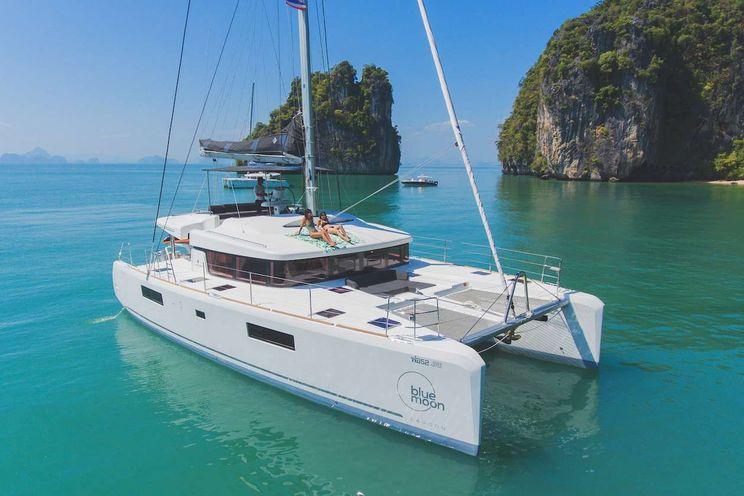 Charter Yacht BLUE MOON - Lagoon 52F - 5 Cabins - Phuket - Thailand