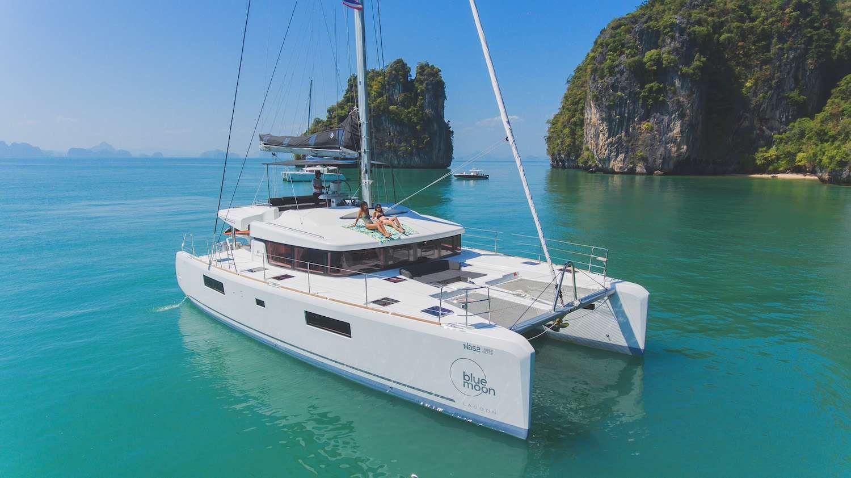 BLUE MOON - Lagoon 52F - 5 Cabins - Phuket - Thailand