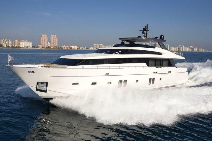 Charter Yacht BODACIOUS - San Lorenzo SL 106 - 5 Cabins - Nassau - Bahamas - Newport