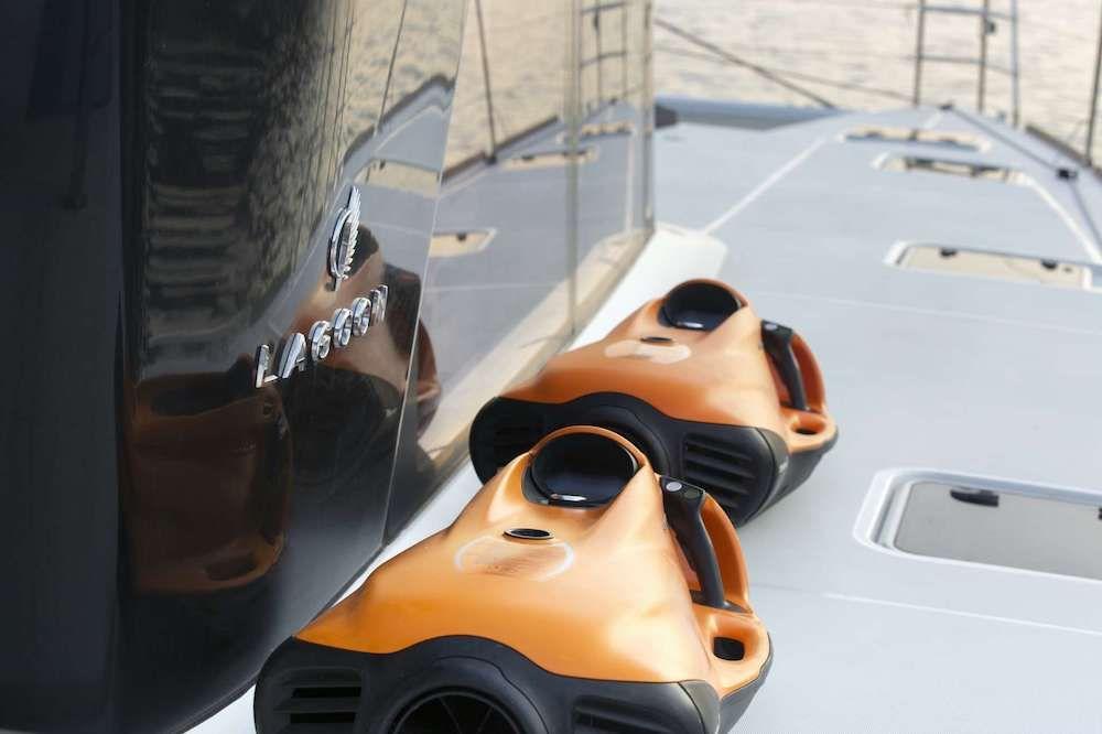 Crewed Catamaran BOOM Seabob
