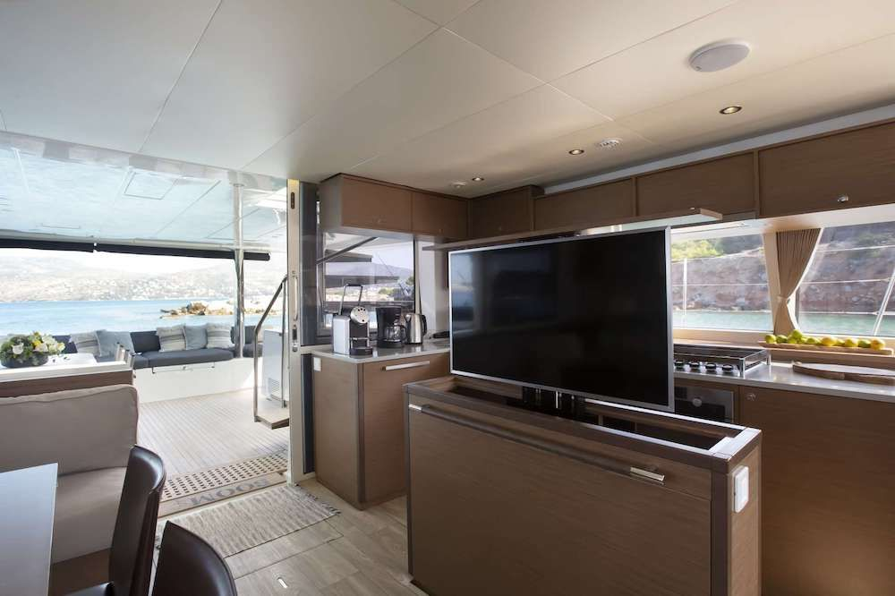Crewed Catamaran BOOM TV