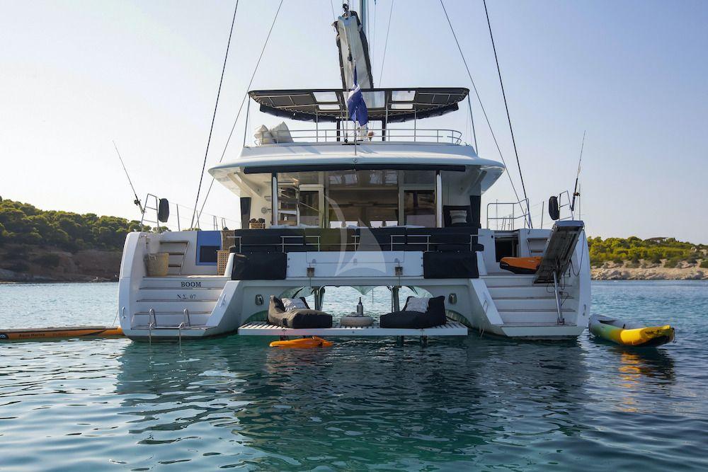 Crewed Catamaran BOOM Anchor