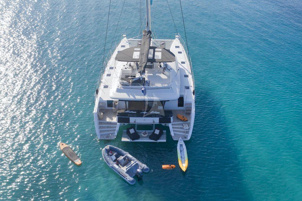 Crewed Catamaran BOOM Aerial