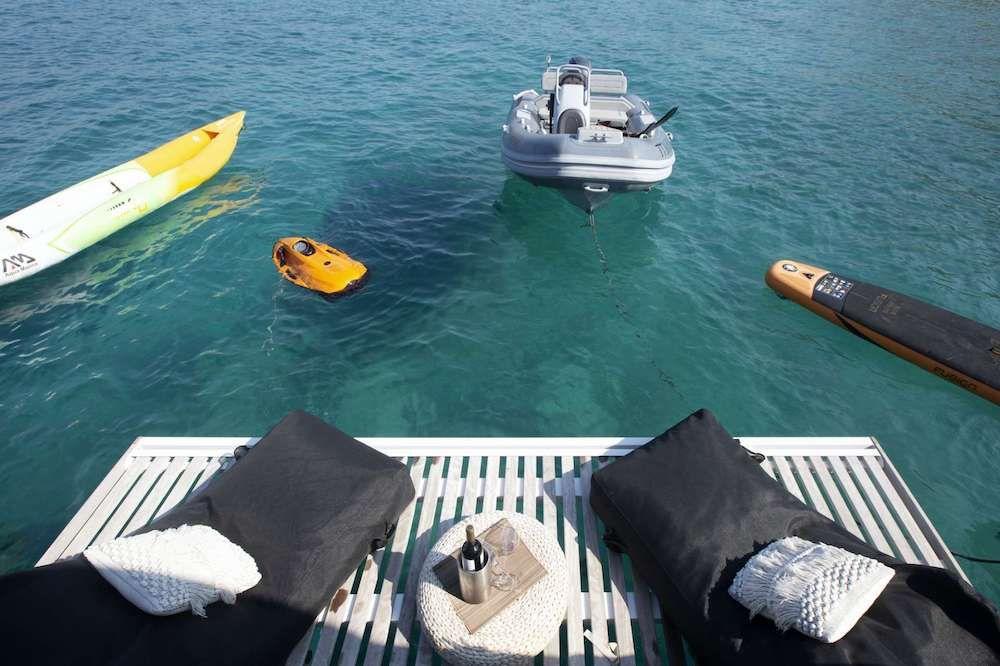 Crewed Catamaran BOOM Toys