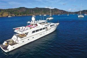 Broward 100 - St Barts Day Charter Yacht - Anguilla - St Martin