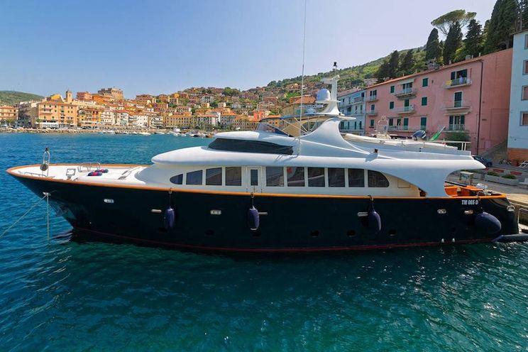 Charter Yacht BUGIA - Termoli 27m - 4 Cabins - Naples - Amalfi - Sardinia - Sicily
