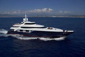BURKUT - Baglietto 54m - 5 Cabins - Monaco - Cannes - St Tropez