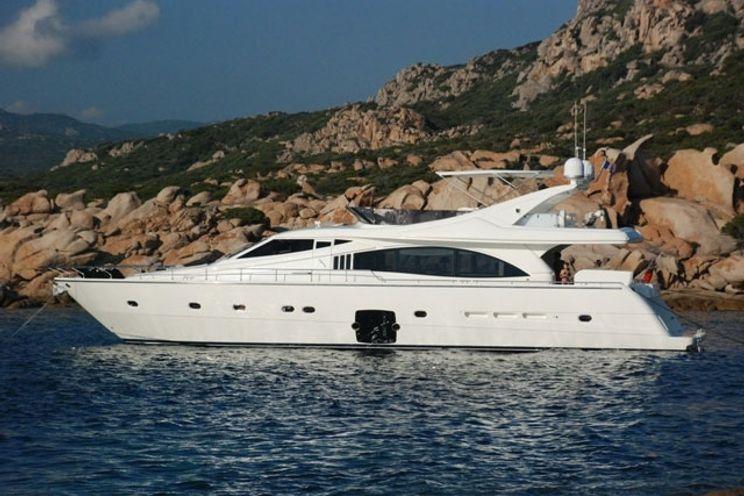 Charter Yacht BYRON BAY - Ferretti 731 - 4 Cabins - Ajaccio - Bonifacio - Calvi - Porto Cervo - Olbia