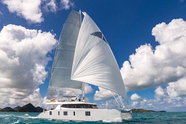 Charter Yacht CALMAO - Sunreef 74 - 4 Cabins - BVI - Tortola - Palma - Ibiza - Formentera