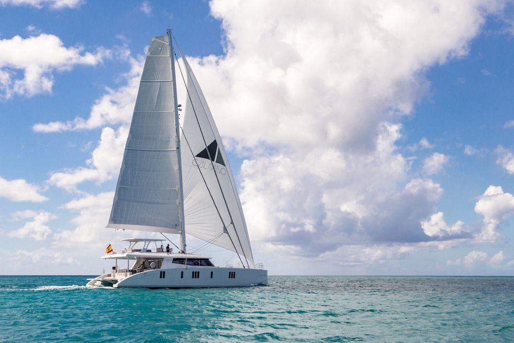Calmao Sunreef 74 Sailing