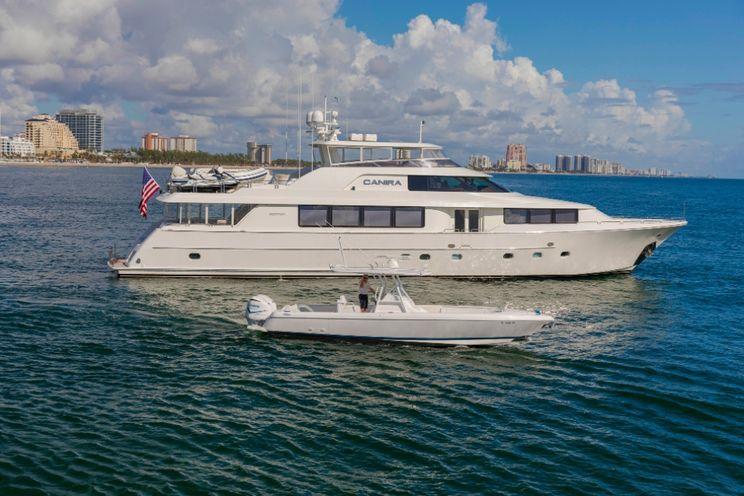 Charter Yacht CANIRA - Westport 112 - 4 Cabins - Nassau - Bahamas - Marsh Harbour - Florida
