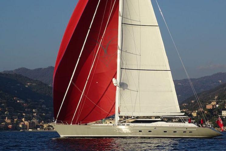 Charter Yacht CAROLINE 1 - 35m Dubois Naval Architects - 4 Cabins - Monaco - Cannes - Naples