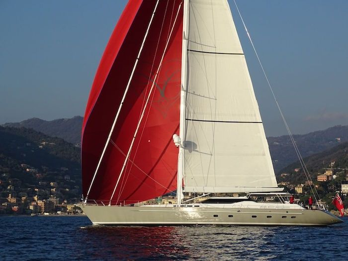 CAROLINE 1 - 35m Dubois Naval Architects - 4 Cabins - Monaco - Cannes - Naples